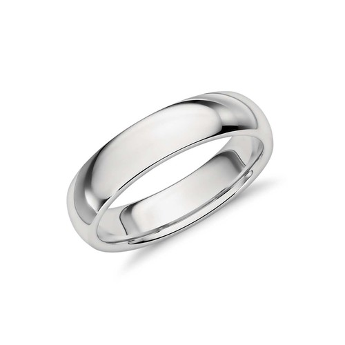 Sterling Silver Classic Band Ring