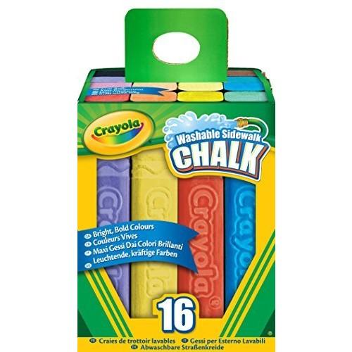 Crayola 16 Count Sidewalk Chalk [1 Pack]