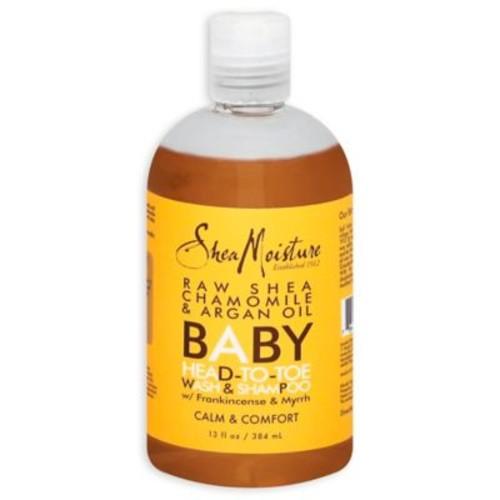 SheaMoisture Raw Shea Butter 12 oz. Baby Head to Toe Wash and Shampoo