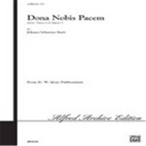 Alfred Dona Nobis Pacem From Mass in B minor (LFR3172)