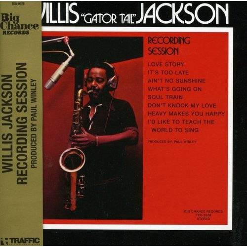 Willis Jackson Recording Session [CD]