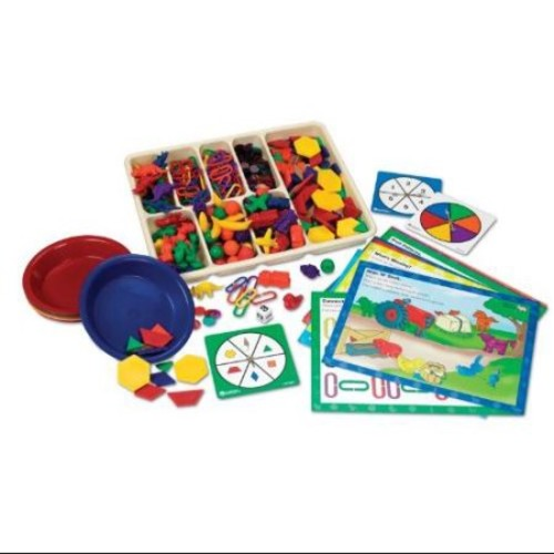 Learning Resources Super Sorting Set withCards (LER0219) Multi-Colored