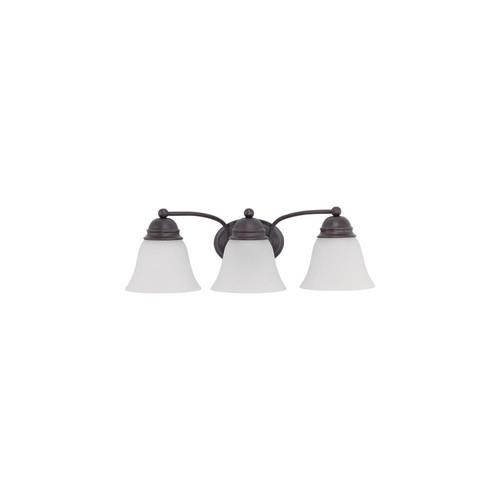 Filament Design 10.5-Watt Mahogany Bronze Integrated LED Bath Light