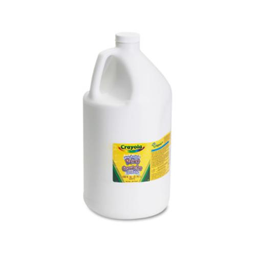 Crayola Washable Paint, White [Unit : Water Base; Mfg. No. : White; Stock No. : each]