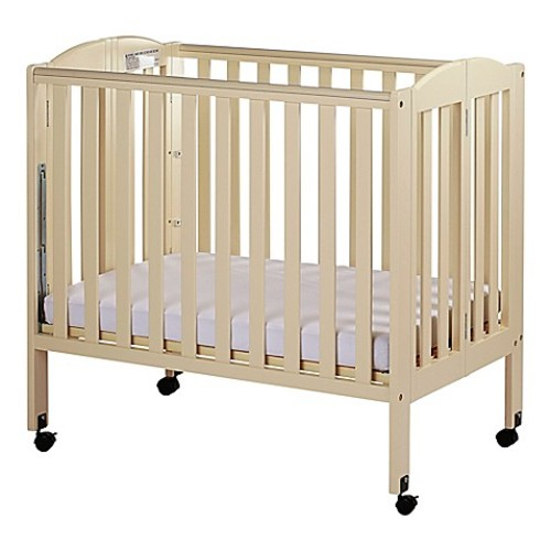 Dream On Me 3-in-1 Folding Portable Crib in French White