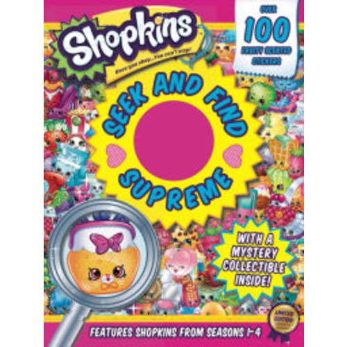Shopkins Seek and Find Supreme