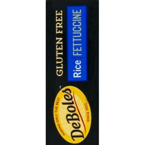 De Boles Gluten-Free Rice Fettuccine Pasta - 8 oz