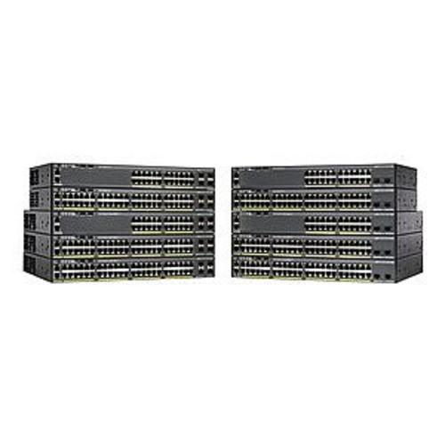 Cisco Catalyst 2960XR-48LPD-I - Switch - L3 - managed - 48 x 10/100/1000 (PoE+) + 2 x SFP+ - desktop, rack-mountable - PoE+ (WS-C2960XR-48LPD-I)
