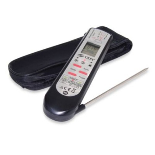 CDN ProAccurate Infrared/Thermocouple Probe Cooking Thermometer