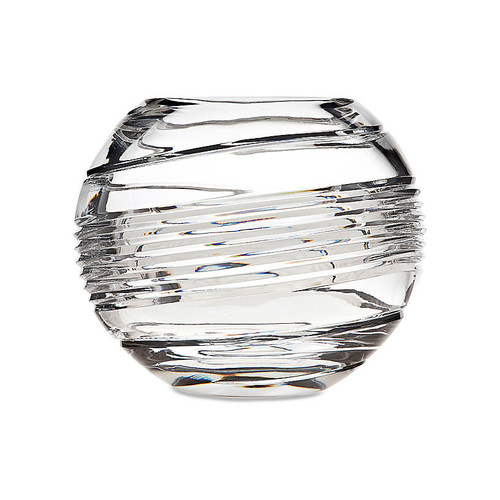 Spirale Serving Bowl, Clear