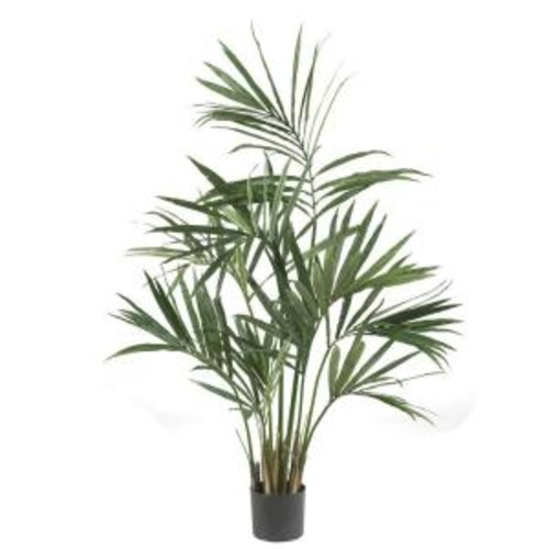 Nearly Natural 5 ft. Green Kentia Palm Silk Tree