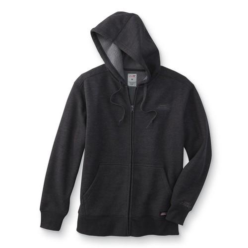 Dickies Men's Waffle Knit Hoodie Jacket