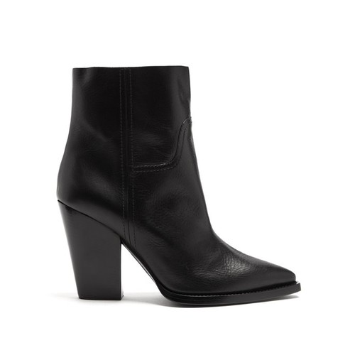 Theo leather ankle boots
