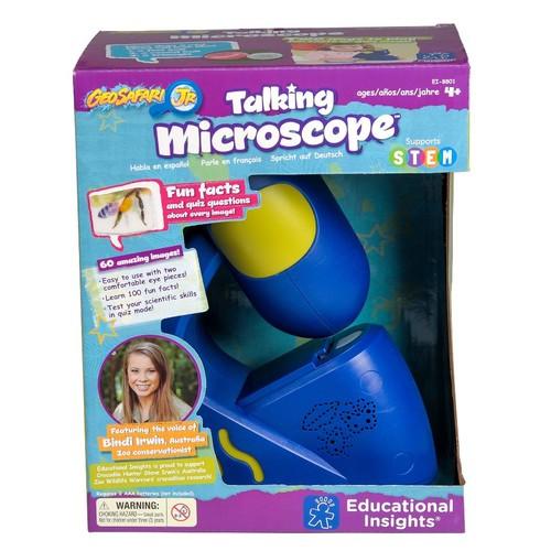 Educational Insights GeoSafari Junior Talking Microscope