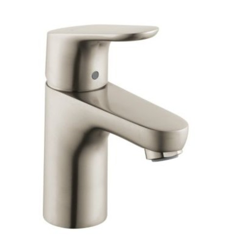 Hansgrohe Focus Single Handle Single Hole Standard Bathroom Faucet; Brushed Nickel