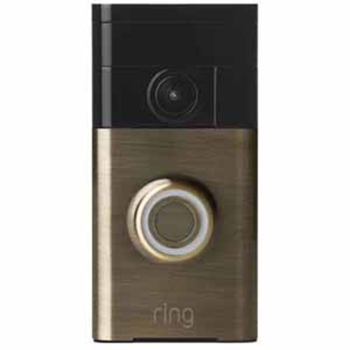 Ring Video Doorbell - Antingue Brass