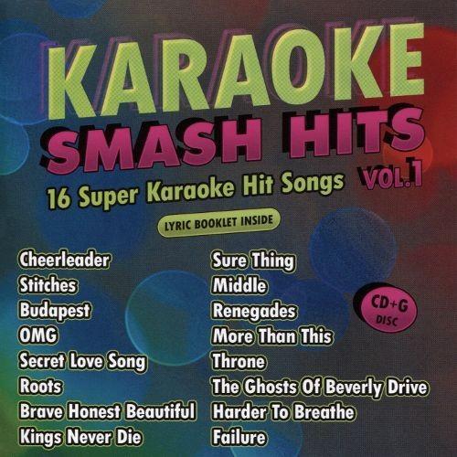 Karaoke Smash Hits, Vol. 1 [CD]
