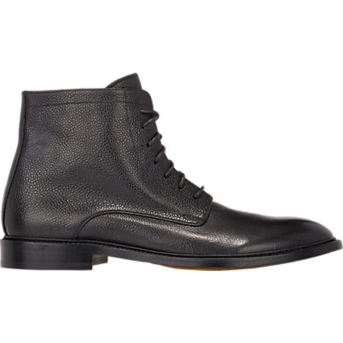 Pebbled Leather Boots