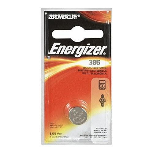 Energizer 386BPZ Zero Mercury Battery - 1 Pack: ENERGIZER BATTERY: Health & Personal Care