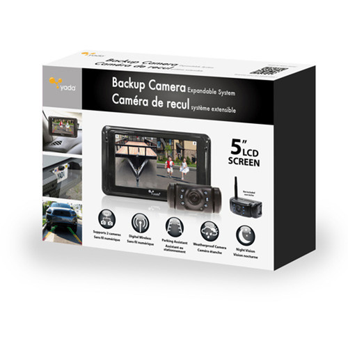 Expandable Back Up Camera System
