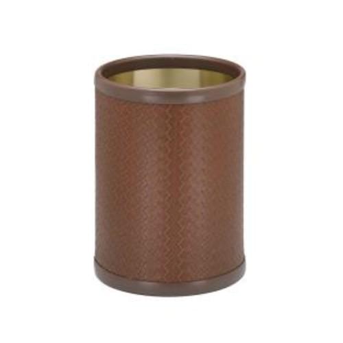 Kraftware San Remo Pinecone 8 Qt. Round Waste Basket