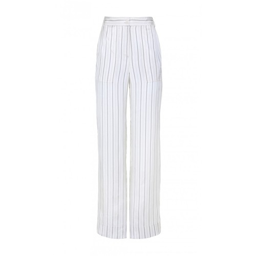 TIBI Striped Cargo Pants