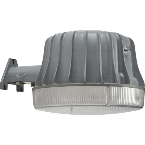 First Alert LED Large Area Security Light  10,000 Lumens, Dusk-to-Dawn Sensor, Gray,