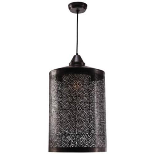 Kenroy Home Sorcerer 1-Light Pendant Light in Black