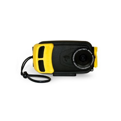 Watershot Inc. WSSG4-001 Underwater Housing for Samsung Galaxy S4 (Black/Yellow)