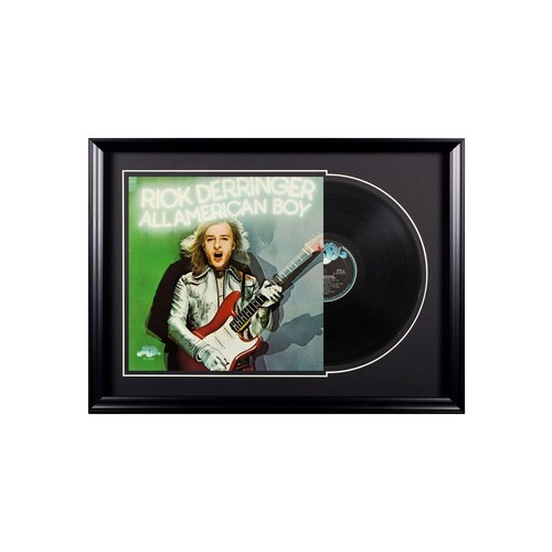 Rick Derringer All American Boy Vintage Album Premium Framed