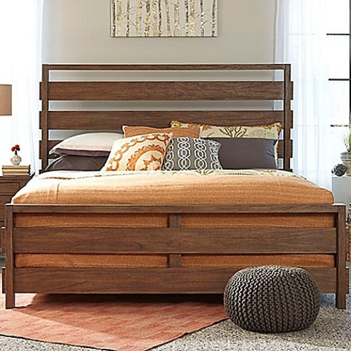 Palmetto Home Panama Jack Driftwood Queen Panel Bed
