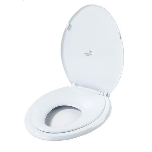 Summer Infant White Plastic Oval 2-in-1 Potty Topper