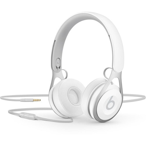 Beats by Dr. Dre EP (White) On-ear headphones with in-line remote and mic