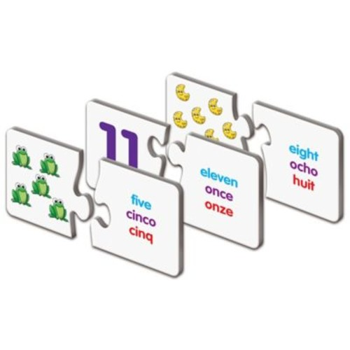The Learning Journey Match It! Trilingual Numbers Puzzle Cards