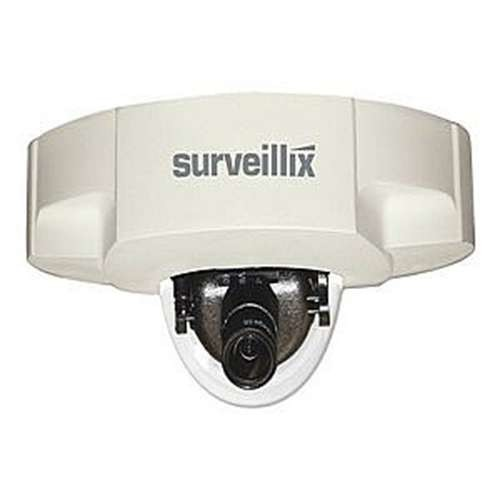 Toshiba 2MP Network IP Dome Camera - Color, Day&Night, 2 MP, 1920 x 1080, Fixed Iris, Fixed Focal, 10/100, MJPEG, H.264, PoE - IKS-WD6112