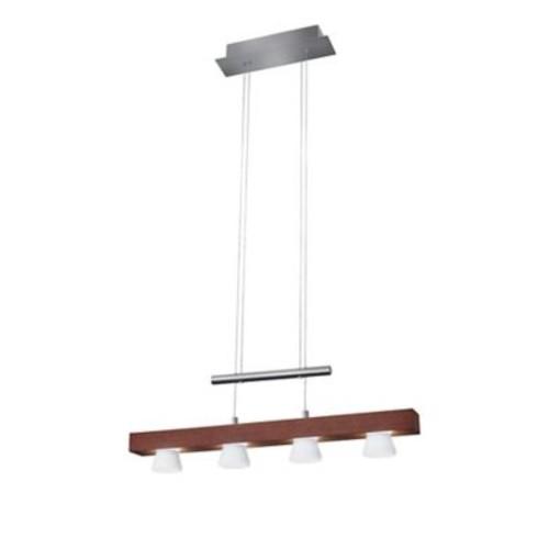 Adesso LED Pendant Lamp Walnut (3097-15)