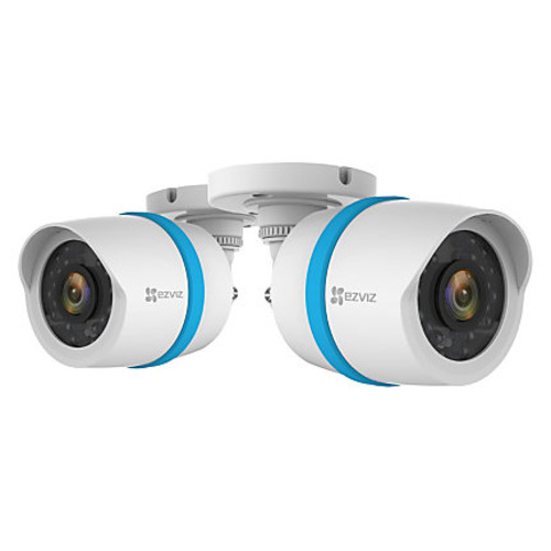 EZVIZ Wired Full-HD 1080p Security Cameras, BC122A, Pack Of 2
