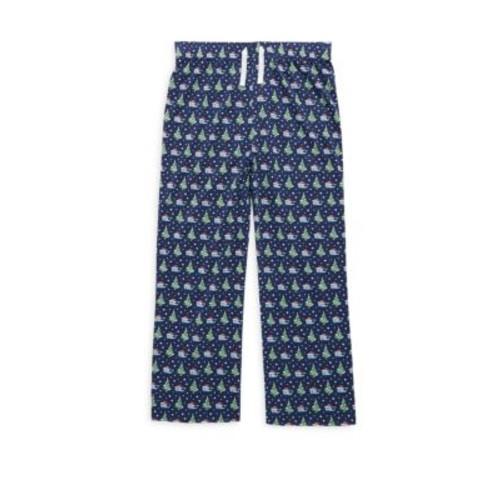 Christmas Toddler's, Little Boy's & Boy's Santa Whale Pajama Pants