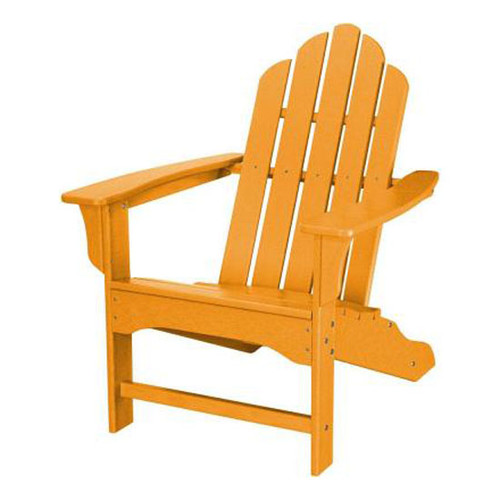 Hanover All-Weather Adirondack Chair - Tangerine