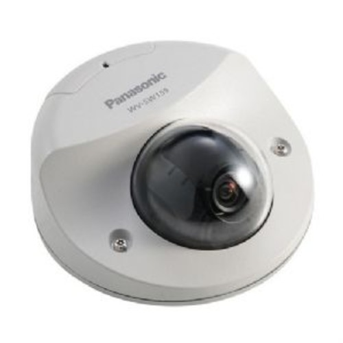Panasonic Super Dynamic HD Vandal Resistant Fixed Dome Network Camera - 1.3 MP MOS Sensor, 1280x960@30fps, H.264/JPEG Codec, IP66 rated, Wide Dynamic Range and ABS, PoE, Pan, Tilt, Zoom - WV-SW155MA