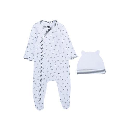 Karl Lagerfeld Kids letter pajamas