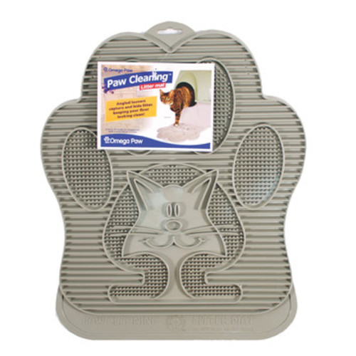 Cat Cleaning Litter Mat