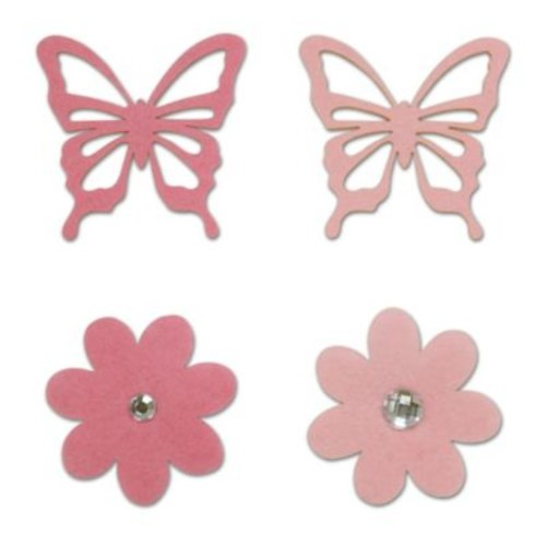 Little Haven 4-Piece Butterfly Letter Embellishment Set