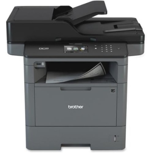 Brother DCP-L5600DN Laser Multifunction Printer - Monochrome - Plain Paper Print - Desktop - Copier/Printer/Scanner - 42