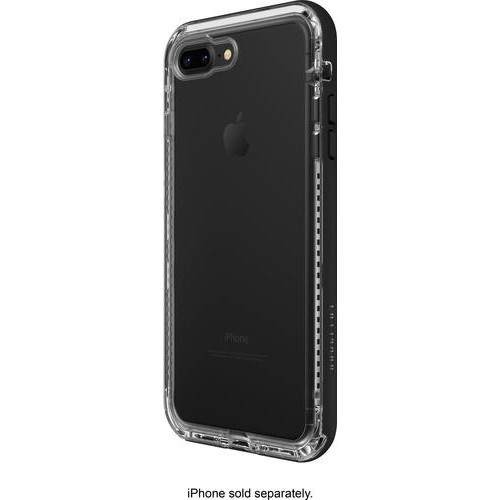 LifeProof - Next Case for Apple iPhone 7 Plus and 8 Plus - Black Crystal