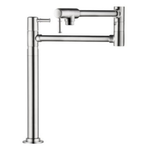 Hansgrohe Talis C Single Handle Deck Mounted Pot Fillers Faucet; Steel Optik