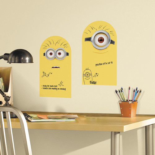 Minion Dry Erase Wall Decals