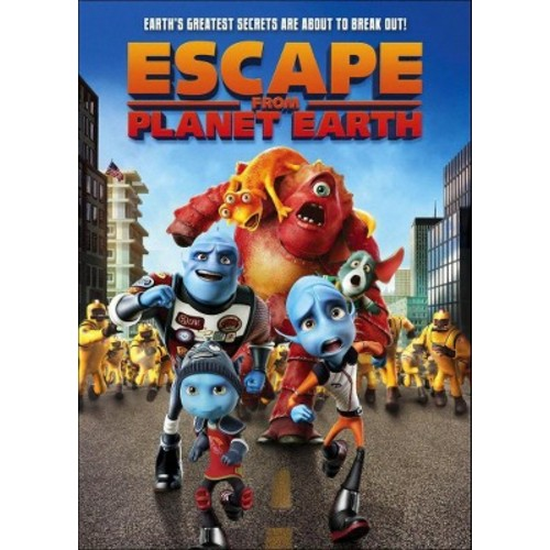 Escape from Planet Earth (dvd_video)