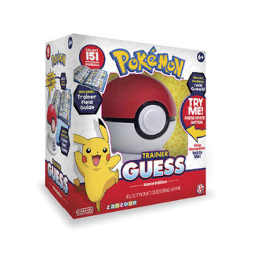 Pokemon Kanto Edition Trainer Guess? Electronic Guessing Game