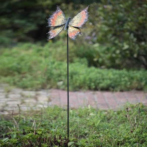 Sunjoy Large Butterfly Garden Stake